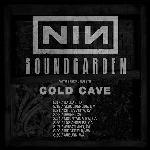 COLD CAVE » Cold Cave on tour with Nine Inch Nails and Soundgarden